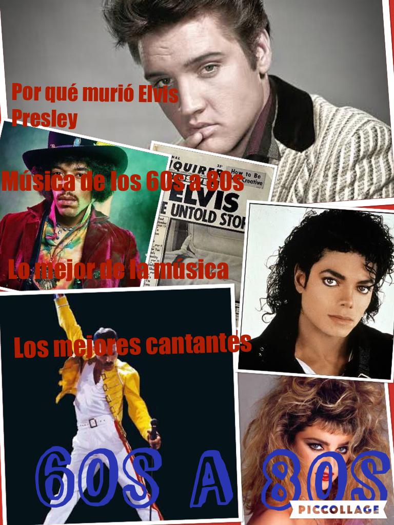Música Desde Los 60's A Los 80's - Magazine cover